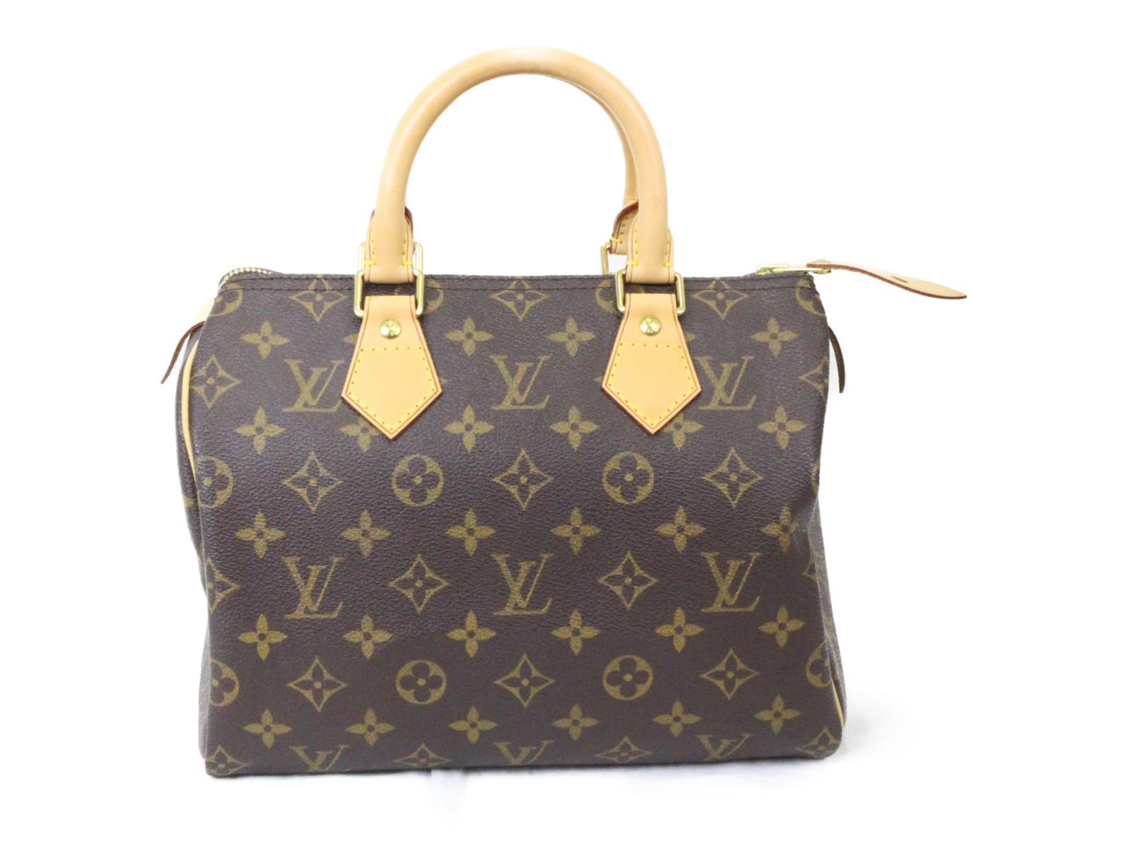 【中古】 LOUIS VUITTON スピーディ25 M41528 モノグラム PVC レディース メンズ ユニセックス バッグ