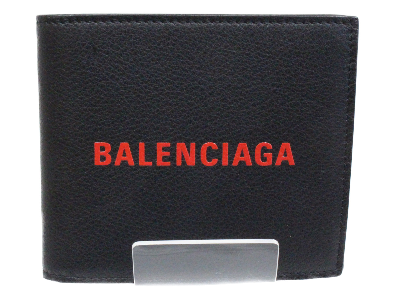 BALENCIAGA(バレンシアガ)エブリデイ 487435DLQHN1064ブラック×レッド【中古】