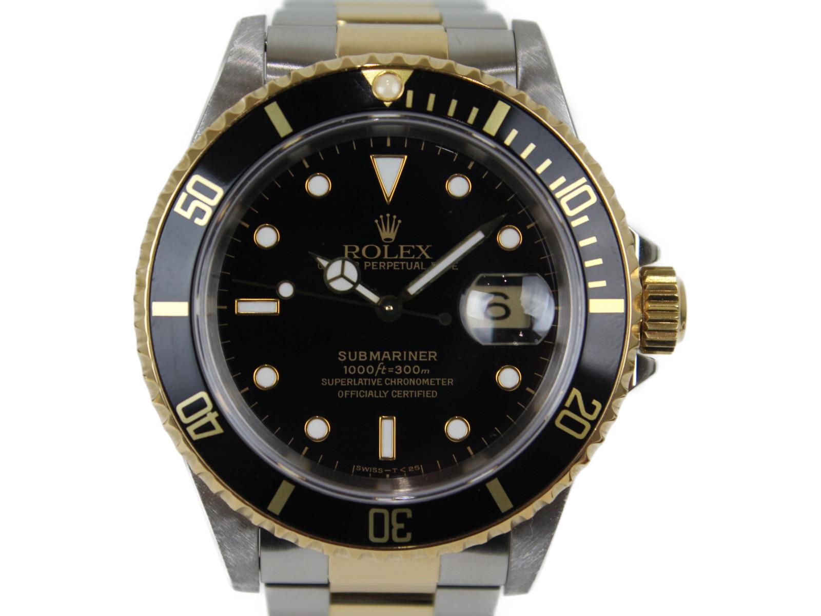 【ギャラあり】 ROLEX サブマリーナデイト 16613 X番 SS×YG ステンレススチール×イエローゴールド 自動巻き 腕時計 メンズ レディース ユニセックス【中古】