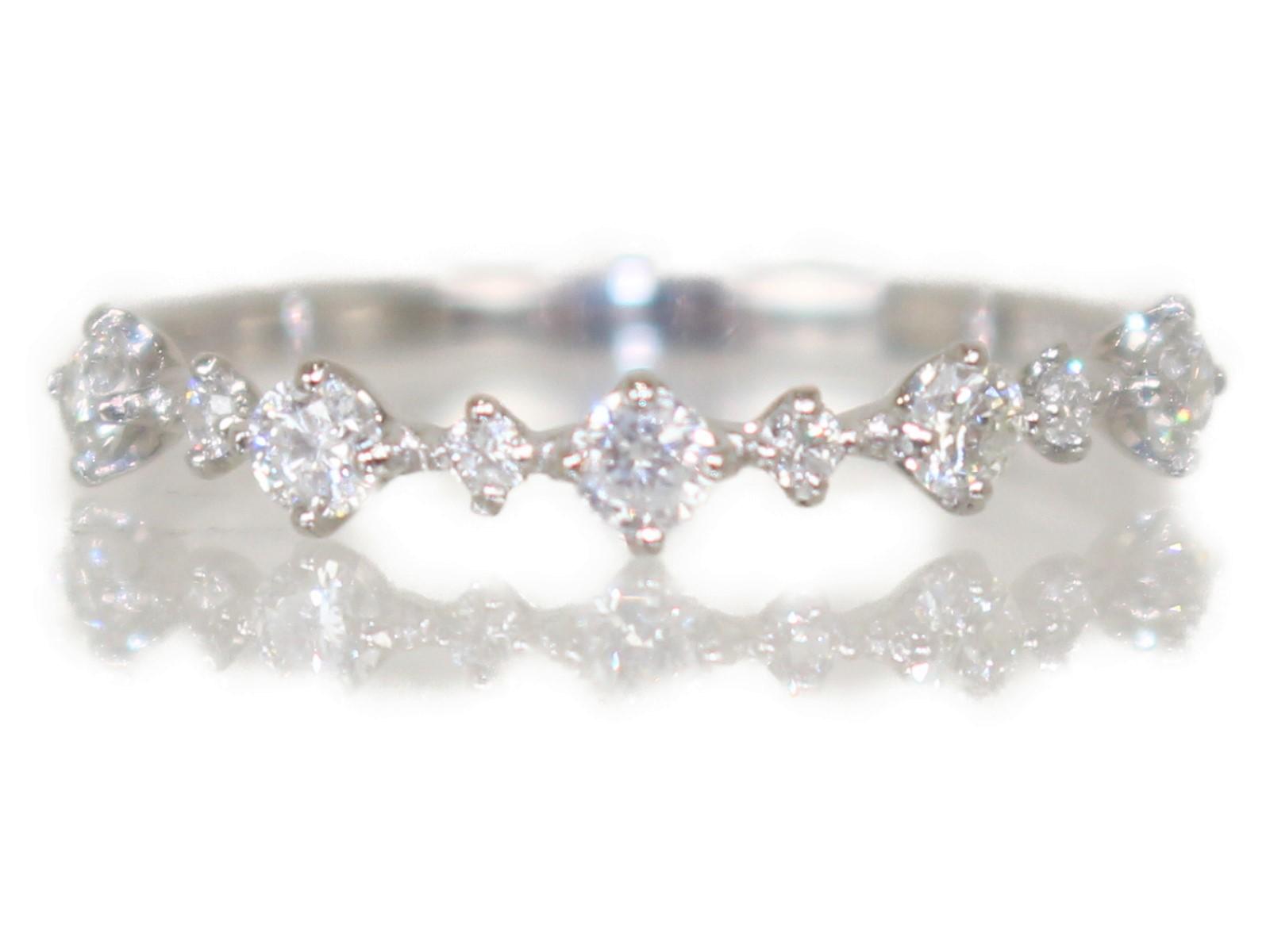 【新品】Pt900 D0.31ctリング 79404803 プラチナ ダイヤモンド Pt900 1.2gレディース メンズ ウィメンズ シンプル プレゼント かわいい 指輪 【中古】