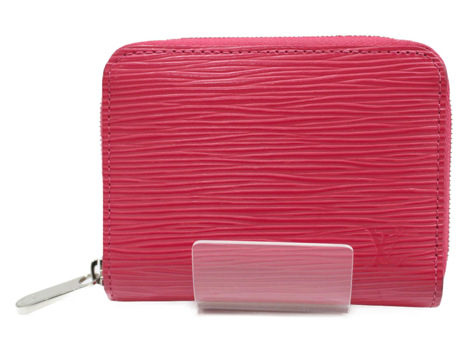 LOUIS VUITTON ジッピーコインパース M60383 エピ ピンク系 レディース カードケース シンプル プレゼント包装可 財布 【中古】
