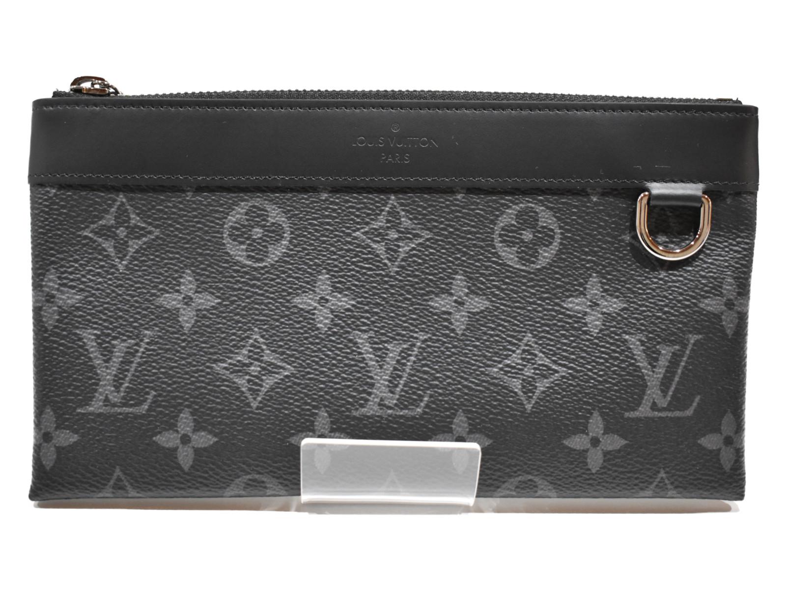 LOUIS VUITTONポシェット・ディスカバリーPM M4433 エクリプス メンズ ポーチ ユニセックス プレゼント包装可【中古】