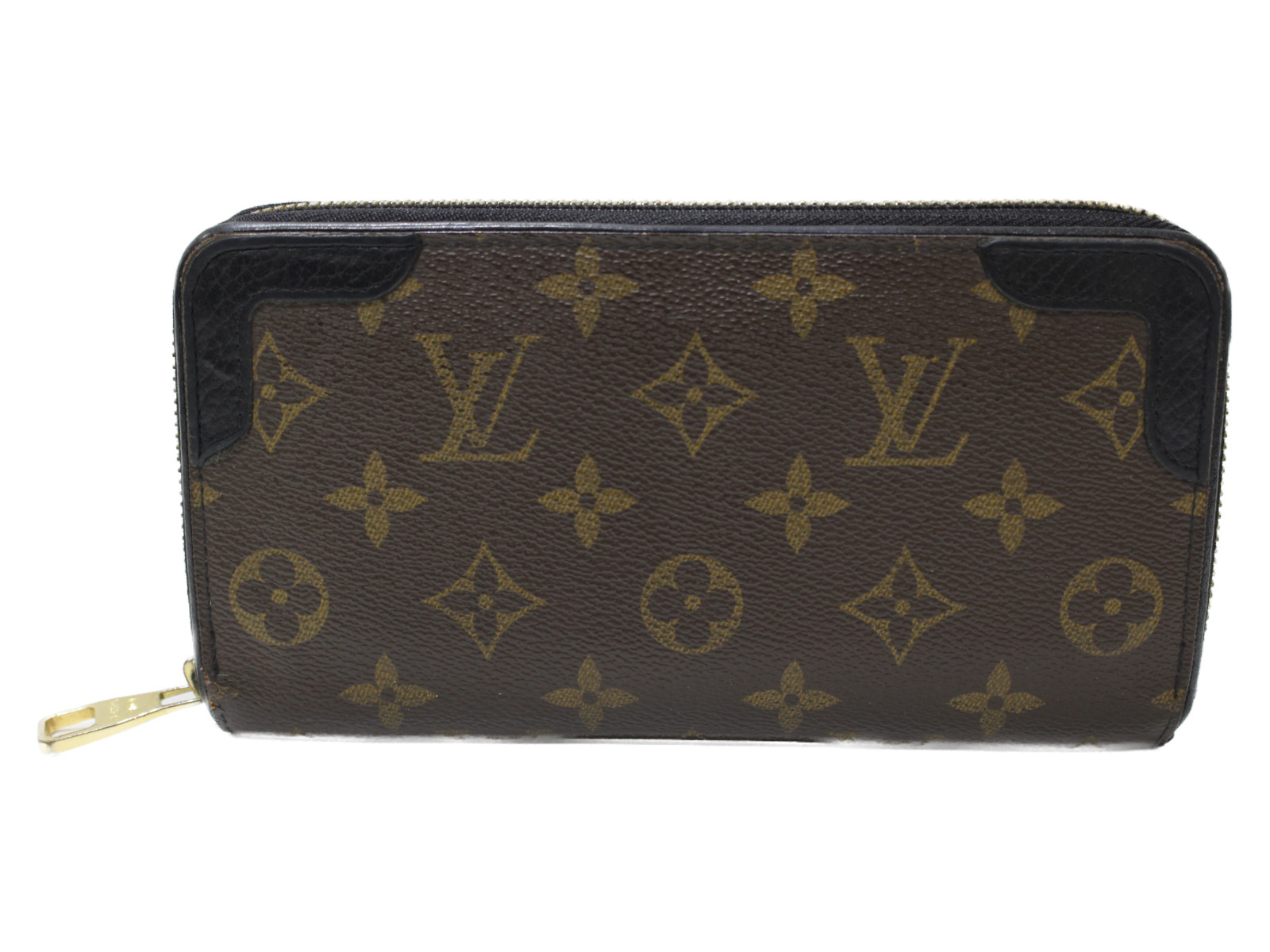【布袋あり】LOUIS VUITTON ジッピー・ウォレットレティーロ M61855 モノグラム レディース メンズ ユニセックス 長財布 ウォレット プレゼント包装可 【中古】