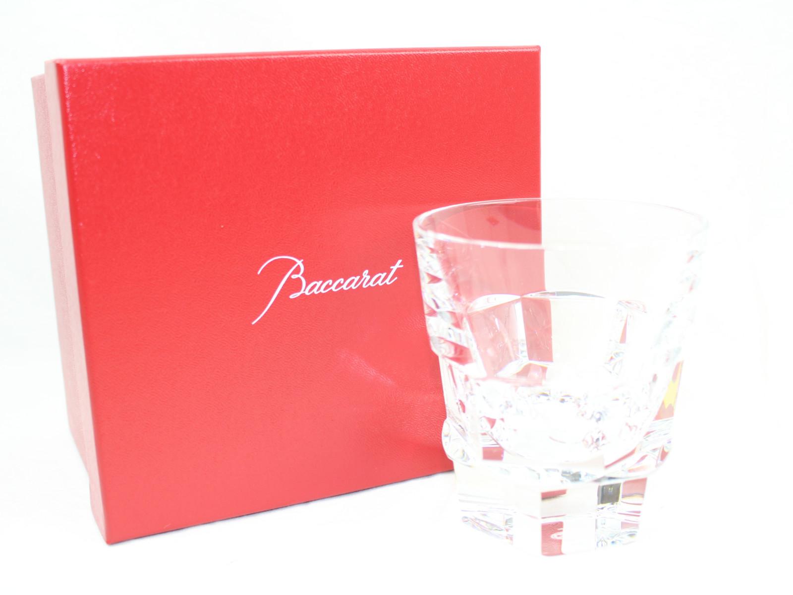 Baccarat アビス 無色透明  メンズ レディース ユニセックス ブランド ショットグラス お酒 コップ 食器 飾り 記念 お祝い 置物 プレゼント 贈り物 人気 【中古】