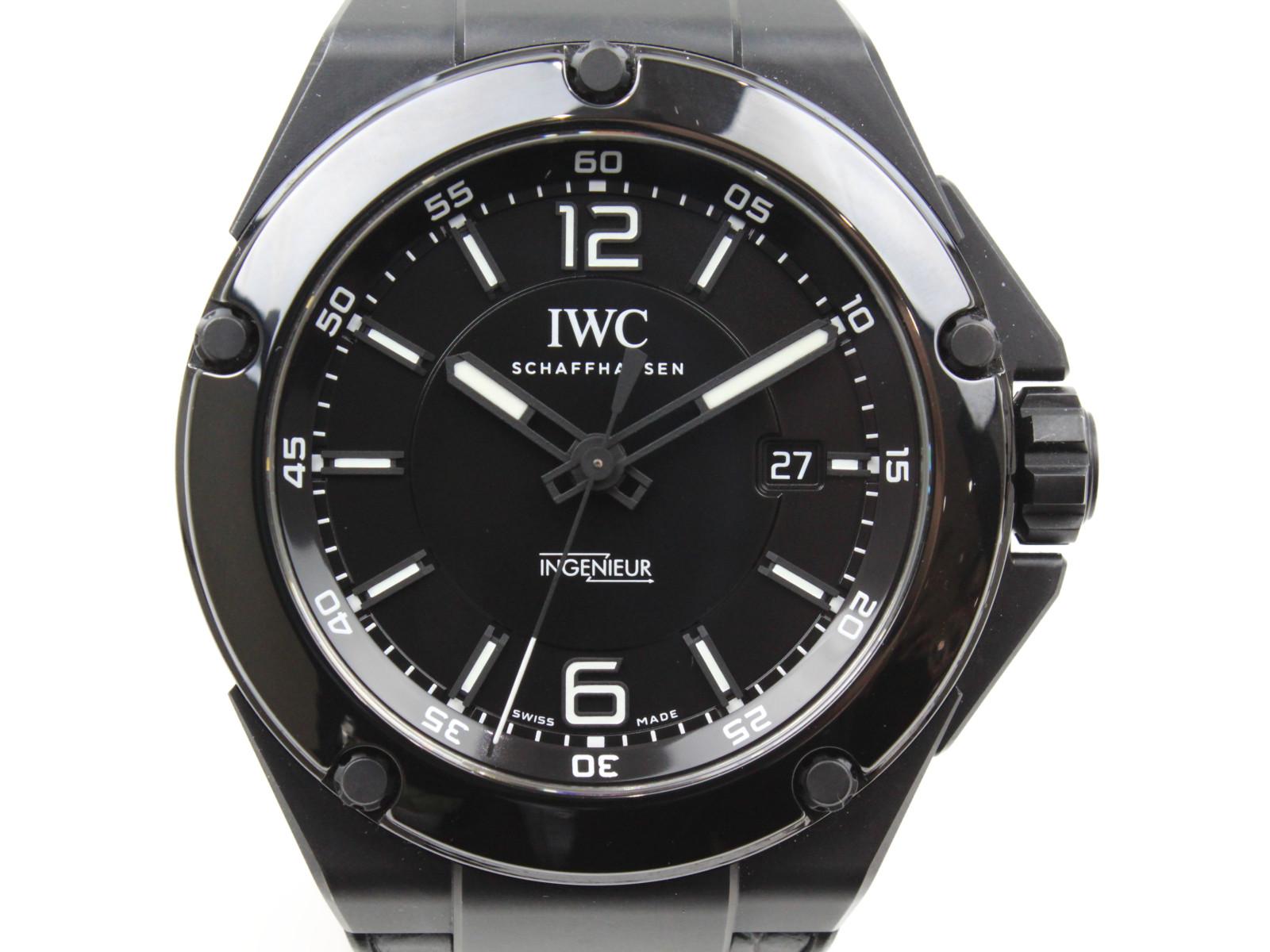 激安超安値 【替えベルト2本付き】IWC アイダブルシー インジュニア オートマティック AMG ブラック シリーズ セラミック IW322503 自動巻き デイト ブラック メンズ 腕時計【】, 旨いもんハンター:552a2074 --- cpps.dyndns.info