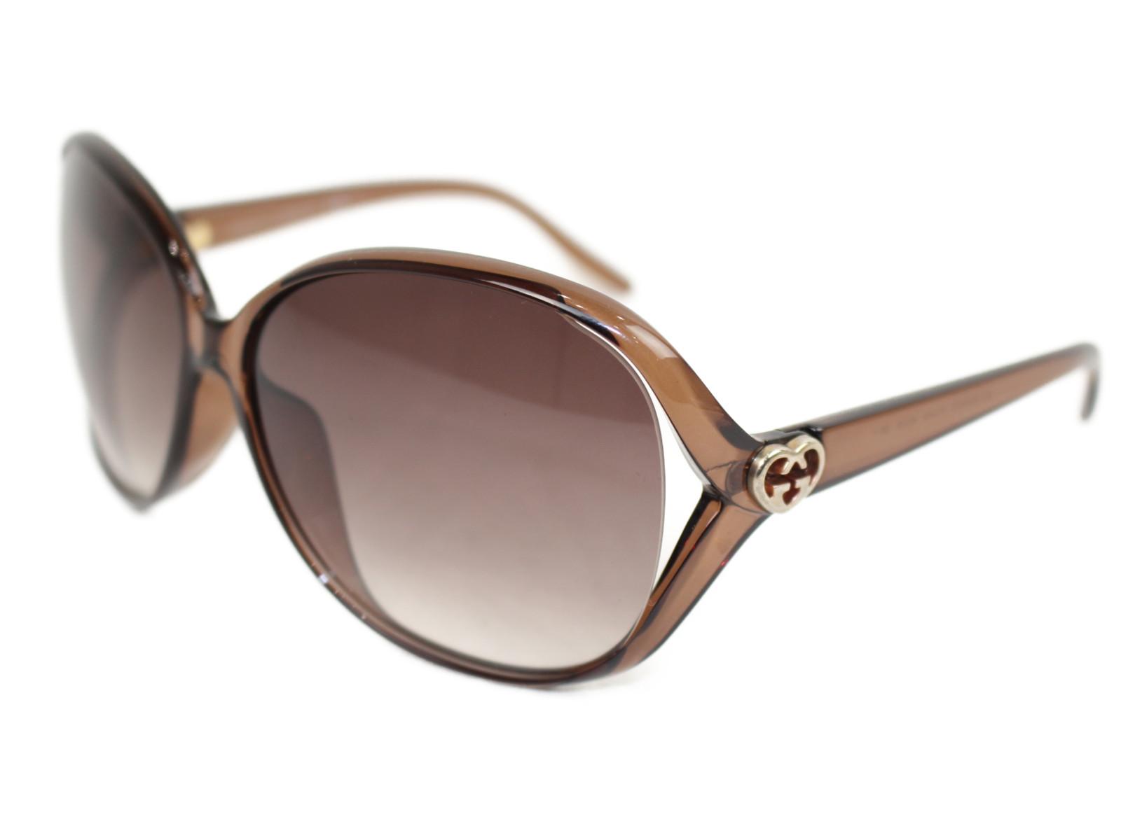 GUCCI サングラス 3525/K/S ブラウン  レディース メンズ ユニセックス 小物 眼鏡 メガネ めがね【中古】