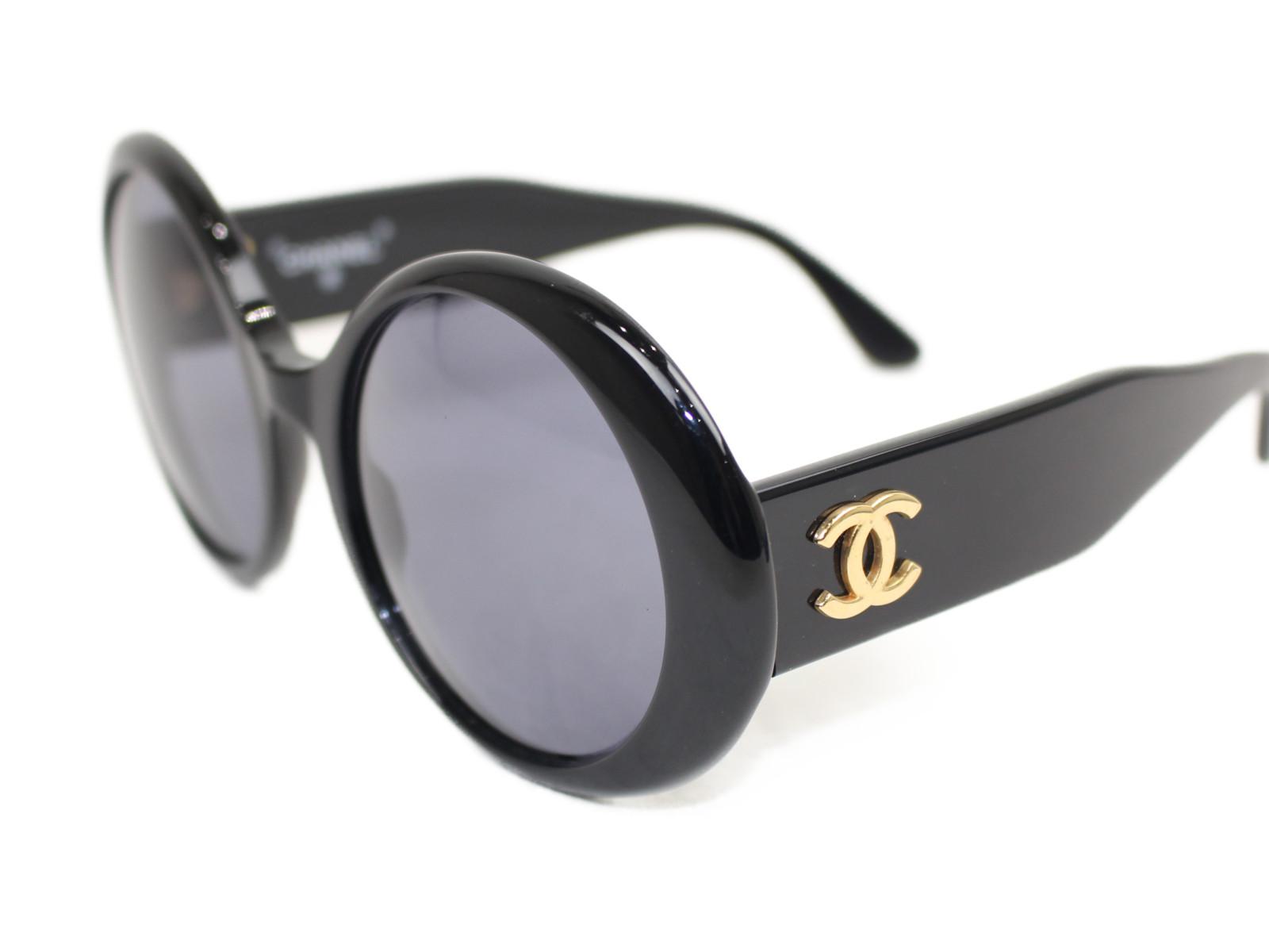 ユニセックス 0014 メンズ ブラック 10 サングラス メガネ 小物  レディース めがね【中古】 眼鏡 CHANEL