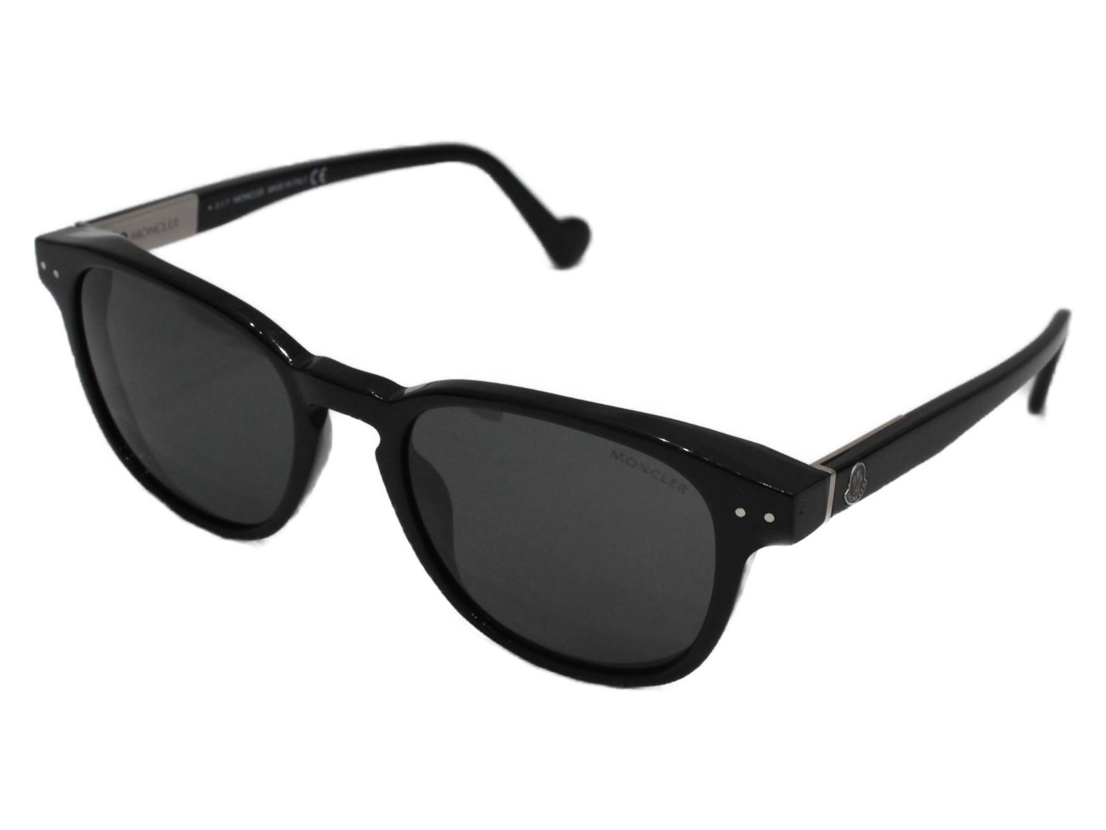 モンクレール 質屋かんてい局松前R56店 新作アイテム毎日更新 MONCLER サングラス ML0010 01A New 買物 Sunglasses ブラック 中古 松前R56店 Unisex