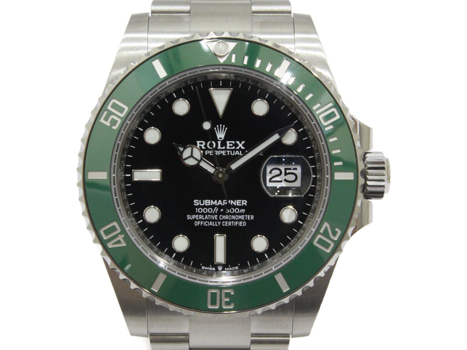 人気定番の 【ギャラ有】ROLEX ロレックス サブマリーナデイト 126610LV 自動巻き ランダム 2020年 SS グリーンサブ 緑サブ ブラック メンズ 腕時計【】松前R56店, はくでん:a9985b95 --- mail.viradecergypontoise.fr