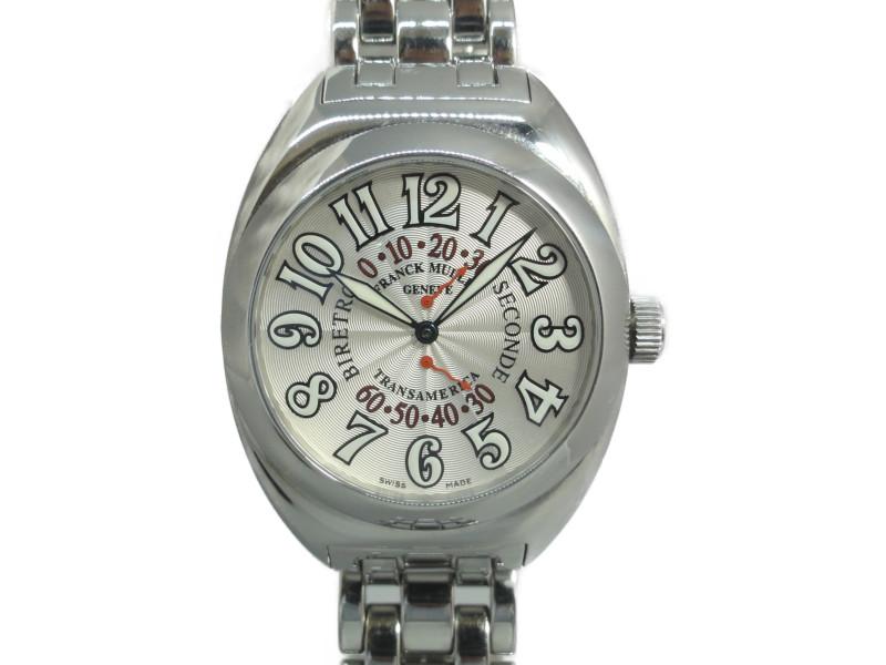 FRANCK MULLER フランクミュラー トランスアメリカ ビーレトロセコンド 2000SR 自動巻き メンズ 腕時計 【中古】