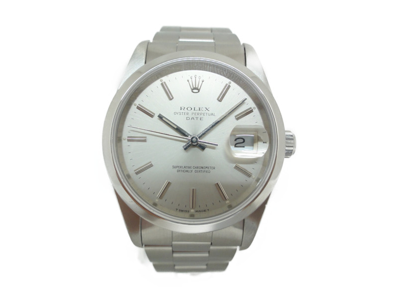 ROLEX ロレックス オイスターパーペチュアルデイト メンズ 腕時計 自動巻き 15200 E番 【中古】