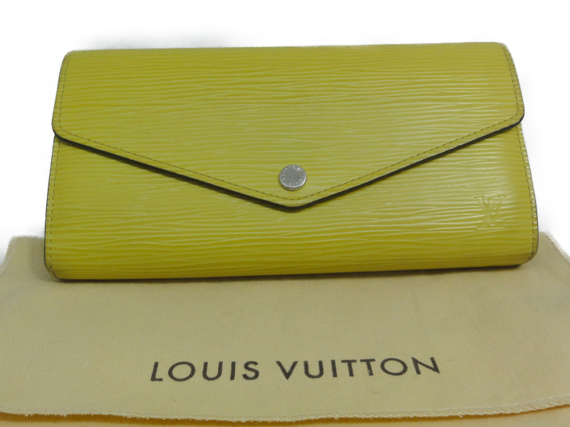 LOUIS VUITTON ルイ・ヴィトン M60588 ポルトフォイユ・サラ エピ 長財布 【中古】