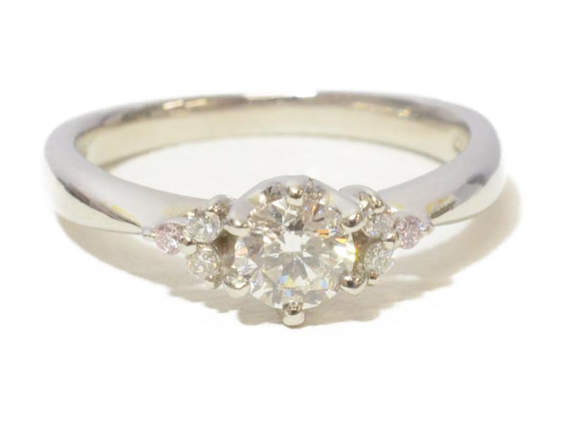 CUKE プラチナダイヤリング Pt900 ダイヤモンド 指輪【中古】