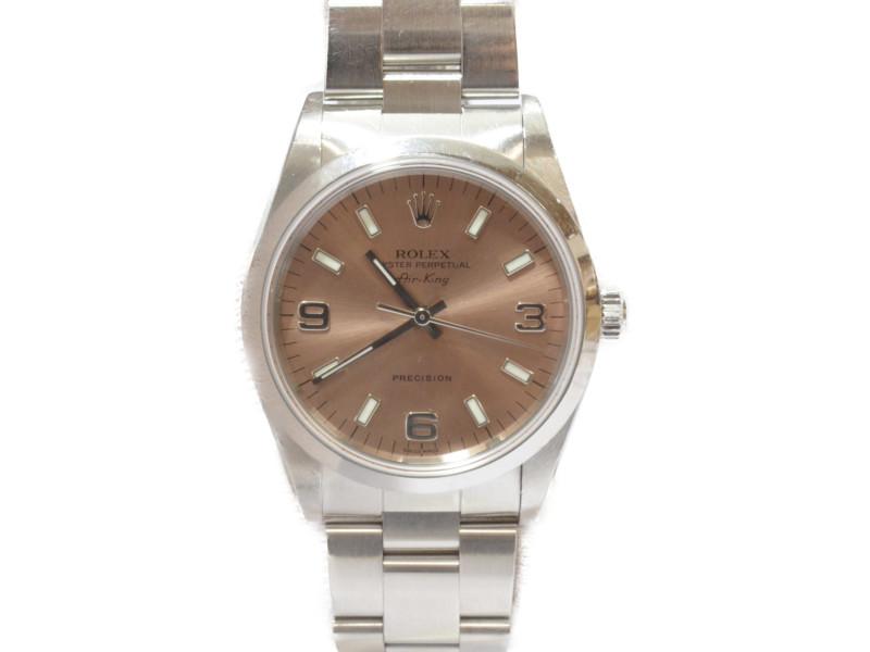 ROLEX ロレックス エアキング 14000 A番 腕時計 自動巻き 【中古】