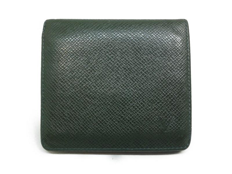 LOUIS VUITTON ルイ・ヴィトン M30454 タイガ ポルトビエ3カルトクレディ メンズ 二つ折り財布 【中古】