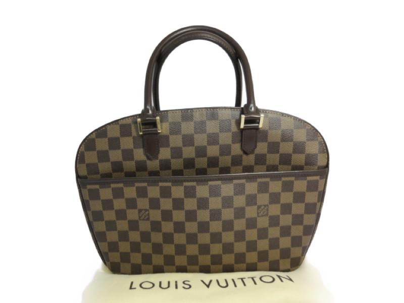 LOUIS VUITTON ルイヴィトン N51282 サリア・オリゾンタル ダミエ ハンドバッグ ボストンバッグ【中古】