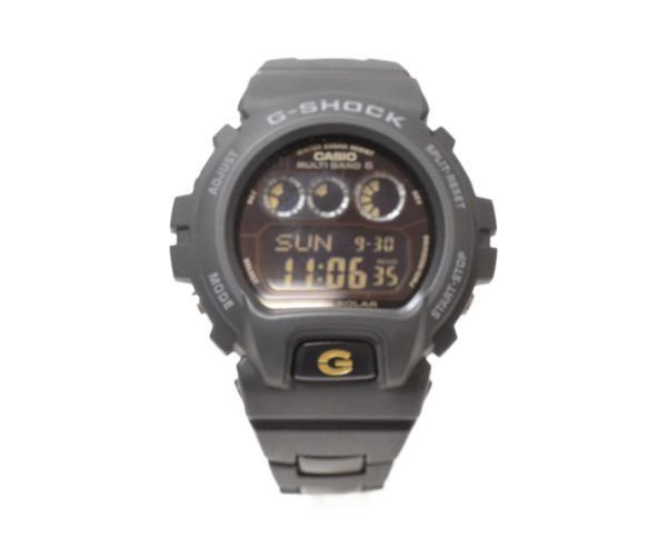 CASIO カシオ G-SHOCK GW-6900BC-1JF メンズウォッチ ソーラー電波クォーツ 【中古】
