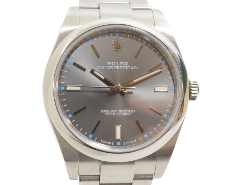 ROLEX ロレックス 114300 オイスターパーペチュアル ランダム番 39mm メンズ 腕時計 【中古】