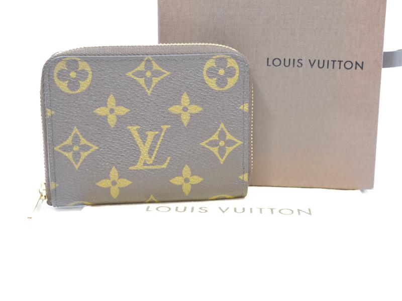 LOUIS VUITTON ルイヴィトン ジッピーコインパース M60067 モノグラム コインケース カードケース ミニ財布 ユニセックス 【中古】