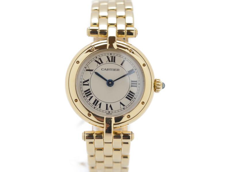大人気の 【CARTIER】 カルティエ パンテール レディース ヴァンドーム レディース クオーツ 腕時計 腕時計 750 パンテール YG【】, おむつケーキ クヌート:445fe894 --- baecker-innung-westfalen-sued.de