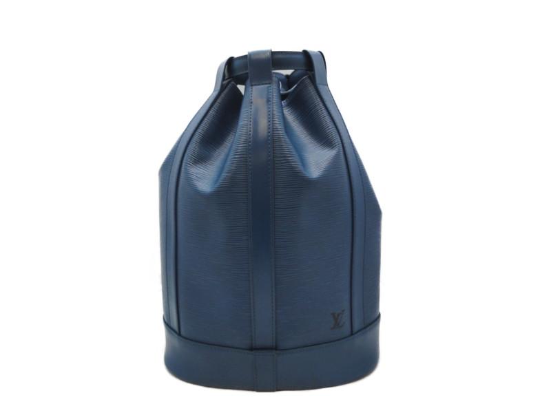 LOUIS VUITTON ルイヴィトン ランドネPM M52355 エピ トレド・ブルー ショルダーバッグ レディース 【中古】