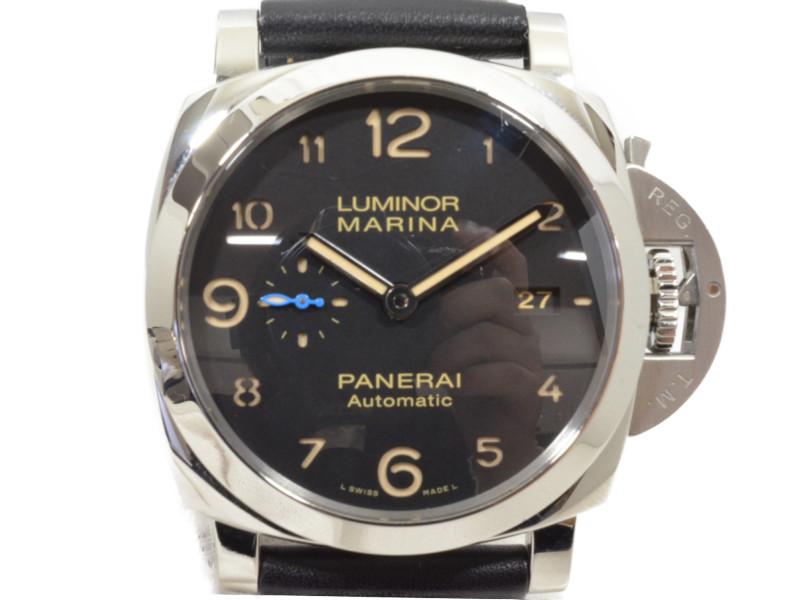【PANERAI】 パネライ ルミノール1950 マリーナ3デイズ オートマチック アッチャイオ PAM01359 メンズ 腕時計 自動巻き 【中古】