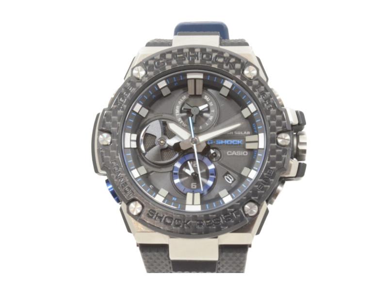 CASIO カシオ G-SHOCK ジーショック GST-B100XA-1AJF モバイルリンク メンズ 腕時計 【中古】