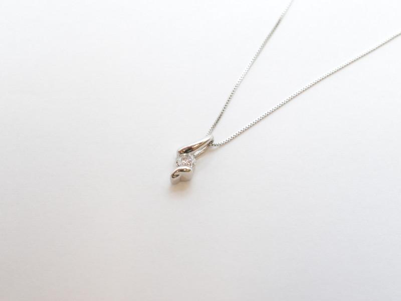 LARA Christie ララクリスティ- プラチナネックレス Pt850 Pt900 40cm レディース【中古】