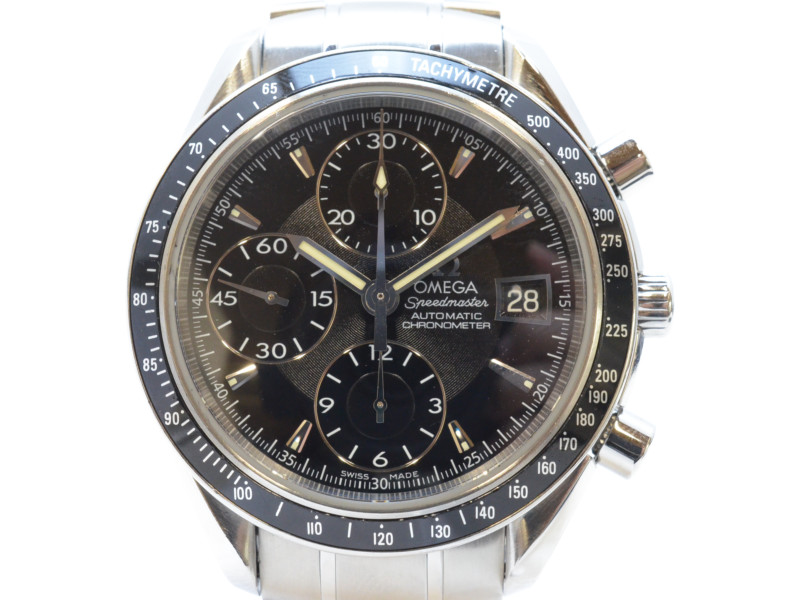 OMEGA オメガ 3210.50 スピードマスター デイト クロノグラフ 自動巻き メンズ 腕時計 高級時計 【中古】