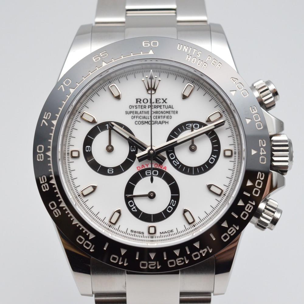 ROLEX ロレックス 116500LN コスモグラフ デイトナ 白文字盤 自動巻き メンズ 腕時計 外装仕上げ済み 【中古】【中古】