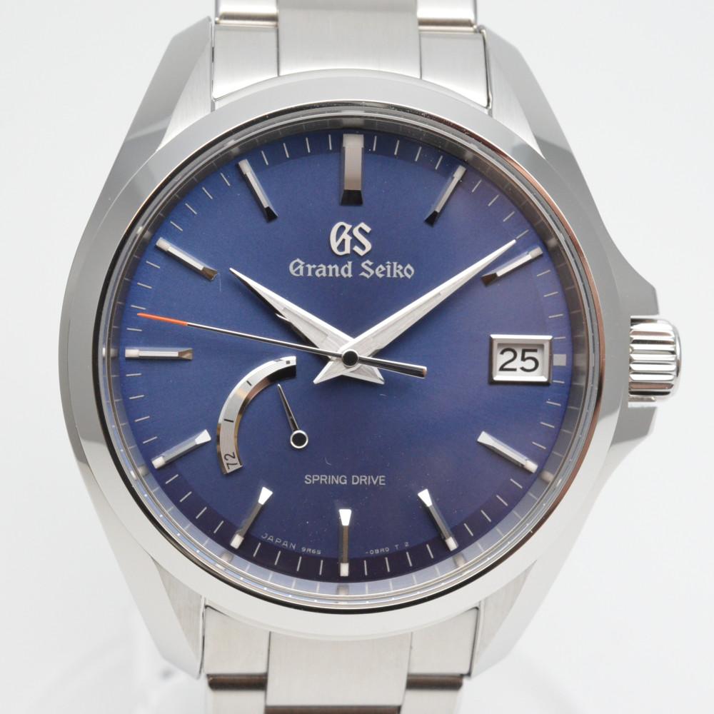 GRAND SEIKO グランドセイコー スプリングドライブ SBGA275 マスターショップ限定 2017年5月モデル 自動巻き パワーリザーブ 腕時計 メンズ 【中古】