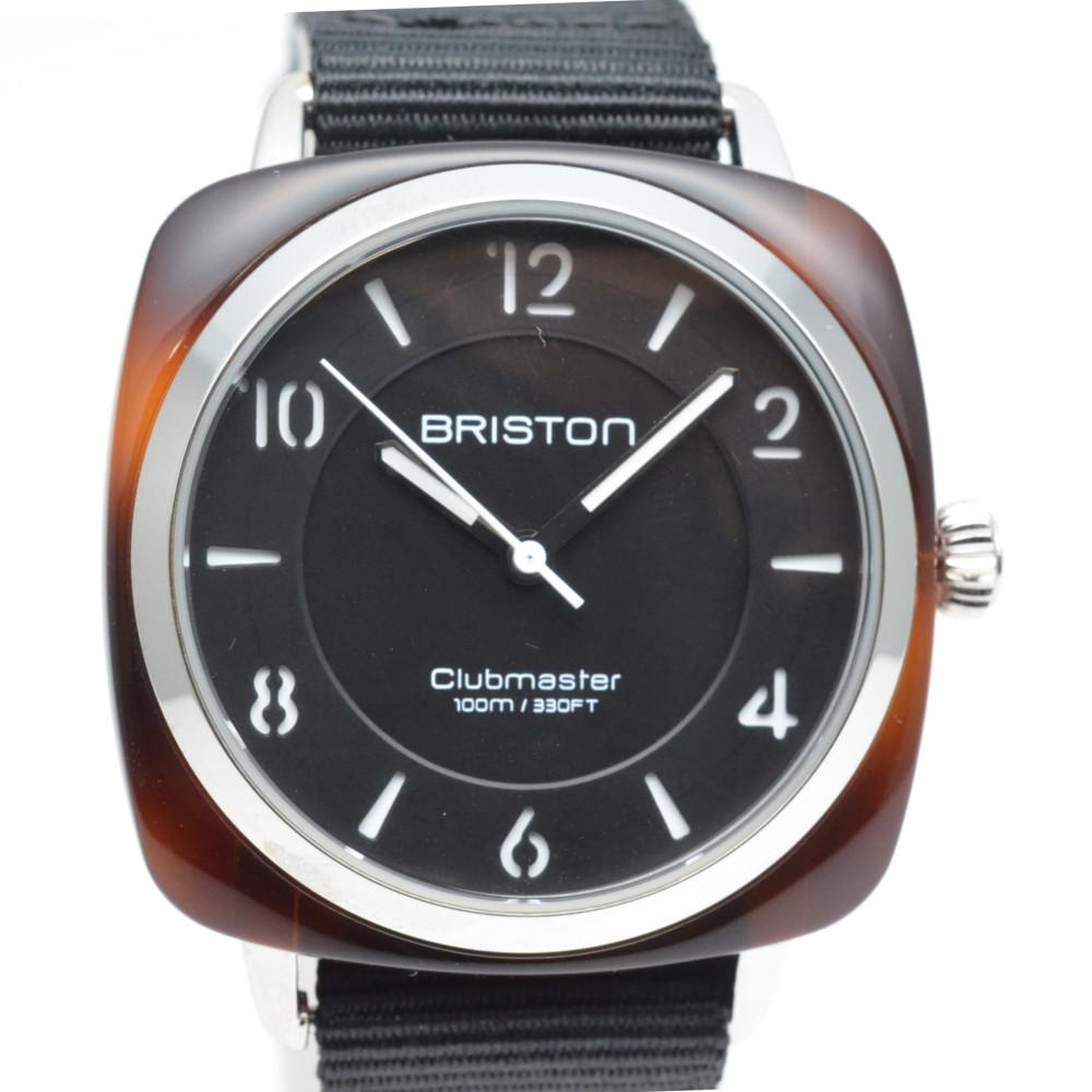 BRISTON ブリストン Clubmaster Chic クラブマスター シック 17536.SA.T.1.NB クォーツ 腕時計 ユニセックス 【中古】