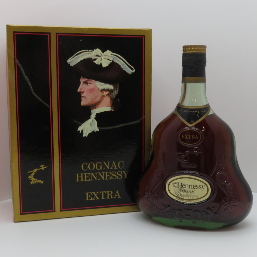 この商品はかんてい局盛岡店から発送いたします Hennessy EXTRA ヘネシー 早割クーポン エクストラ グリーンボトル ブランデー コニャック フランス 未開栓 レビューを書けば送料当店負担 箱 700ml 40度 中古