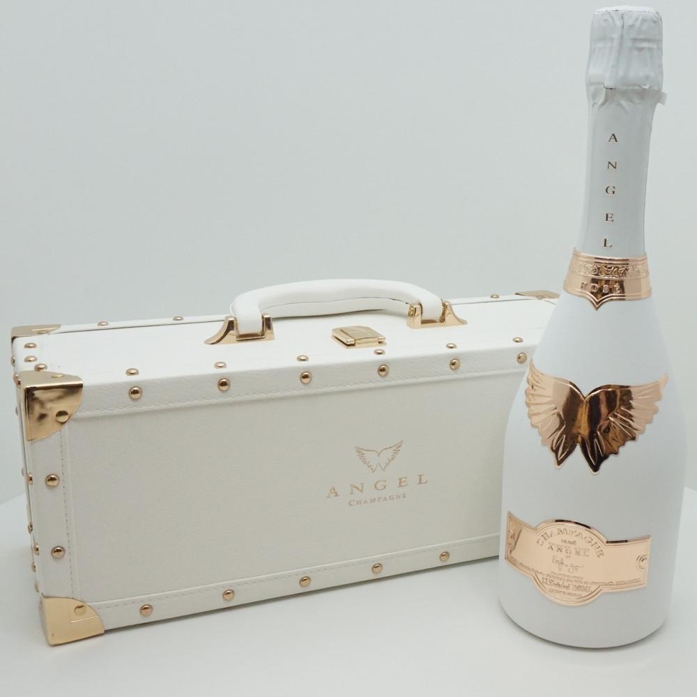 この商品はかんてい局盛岡店から発送いたします ANGEL CHAMPAGNE NV Rose White エンジェル シャンパン 注文後の変更キャンセル返品 ロゼ 未開栓 シャンパーニュ スパークリングワイン ホワイト 中古 高級 フランス 容量750ml アルコール12.5度