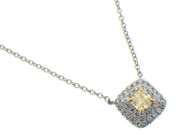 wholesale dealer dc56d f72f4 TIFFANY ティファニー ソレストイエローダイヤモンドネックレス ...