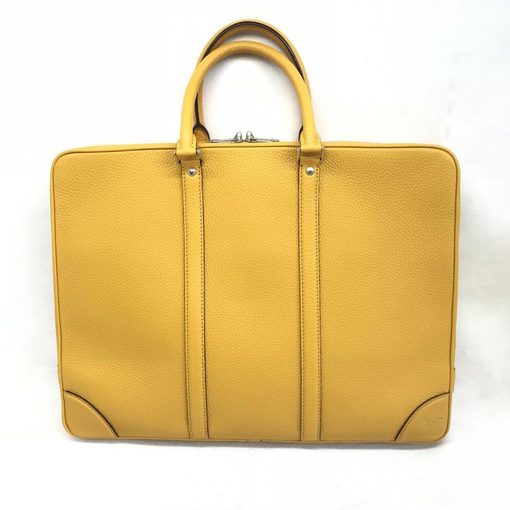 ルイヴィトン LOUIS VUITTON / M56002 トリヨン ポルトドキュマンヴォワヤージュ イエロー ブリーフケース 書類 ビジネス 管理RM1943