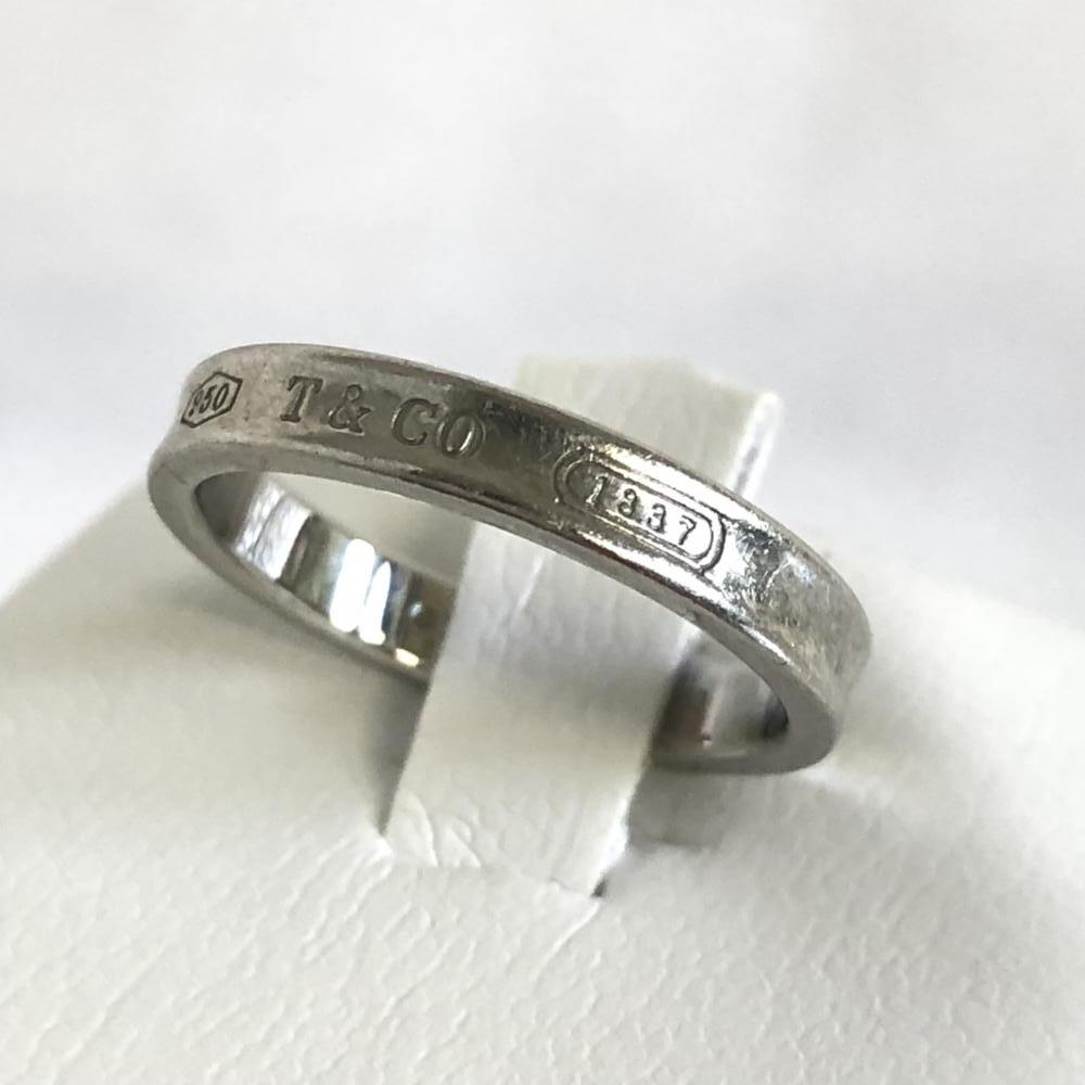 TIFFANY&Co. ティファニー ナロー リング サイズ約8号 Pt950 プラチナ レディース アクセサリー 指輪 貴金属 管理YH2846
