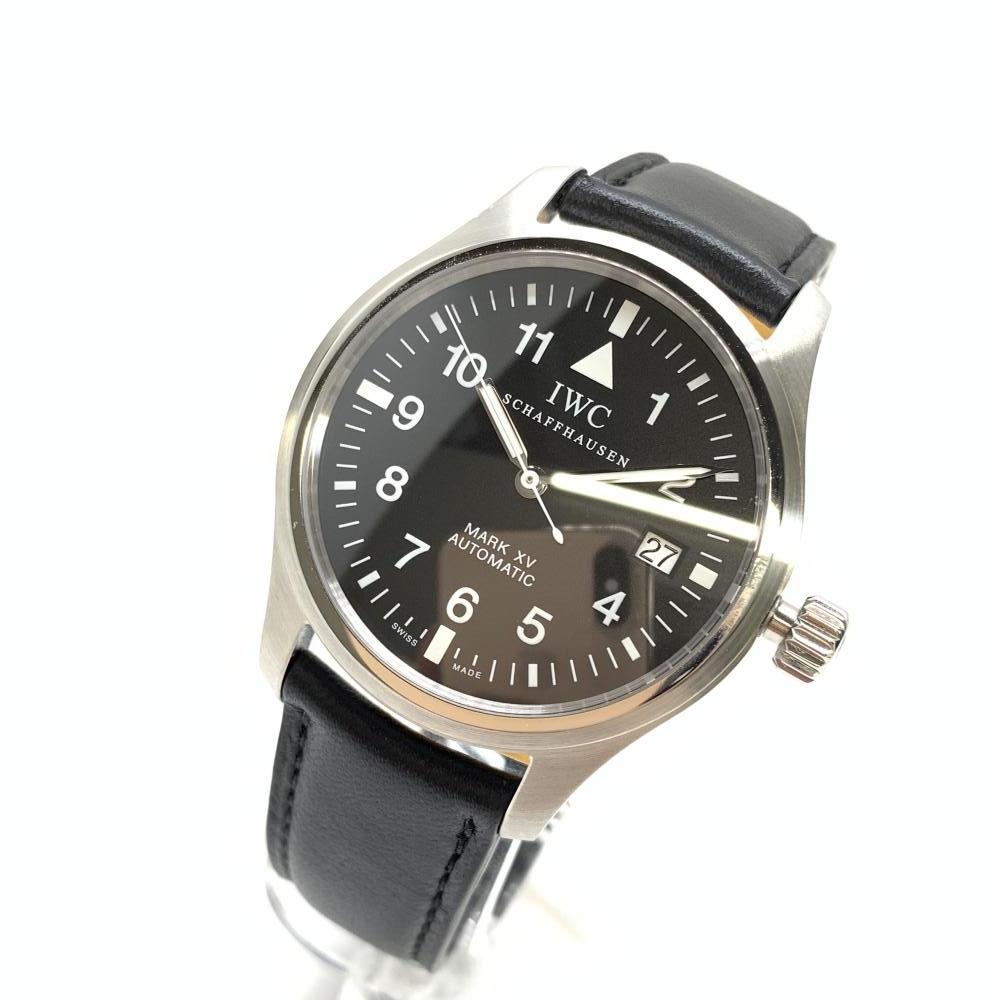 【税込】 IWC 腕時計 インターナショナルウォッチカンパニー IW325301 パイロットウォッチ マーク15 IWC MARK 自動巻き マーク15 腕時計 メンズ 黒文字盤 管理RM19037, リフォームおたすけDIY:a30c82bb --- baecker-innung-westfalen-sued.de