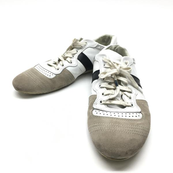 Dior ディオールオム スニーカー 靴 くつ クツ スエード×レザー サイズ7E(約26.5cm) メンズ 紳士雑貨 管理RY18001768