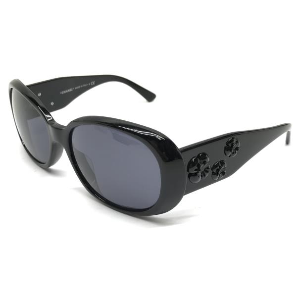 新版 CHANEL シャネル 5113A サングラス 眼鏡 5113A メガネ メガネ レディース めがね カメリア ブラック 黒 56□16 130 レディース 管理RY19000358, ガトールアン:5a948915 --- totem-info.com