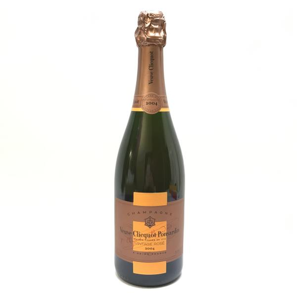 ■Veuve Clicquot ヴーヴ・クリコ ヴィンテージリッチ ヴィンテージロゼ 2004年 750ml シャンパーニュ シャンパン 管理YI19000877