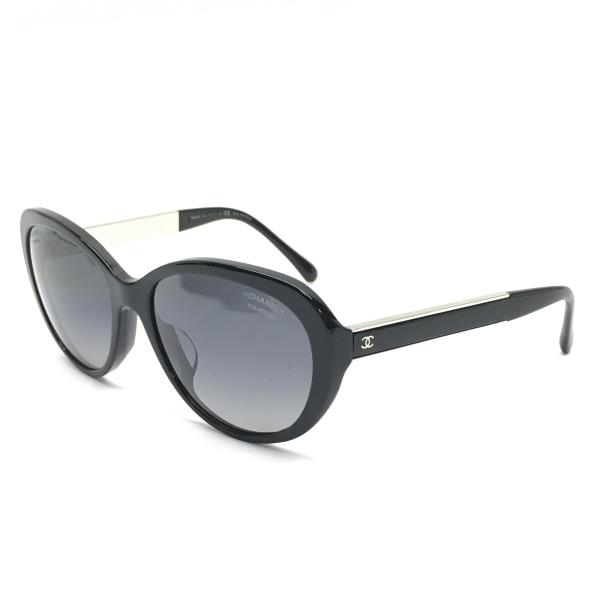 CHANEL シャネル 5269-A サングラス 56□17 135 眼鏡 めがね メガネ ブラック 黒 レディース 管理RY19000924