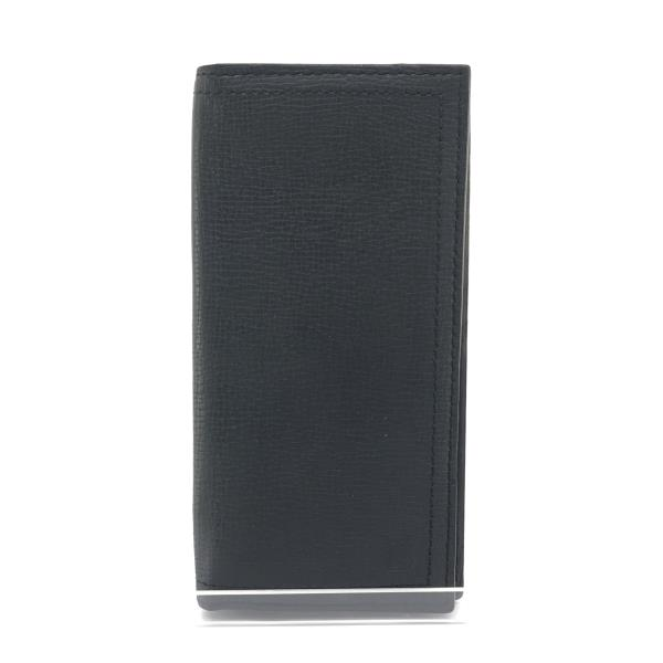 LOUIS VUITTON ルイヴィトン M64138 ポルトフォイユ・ロング コイン ユタ メンズ ブルーマリ 長財布 二つ折り レザー 黒 管理YK19003582