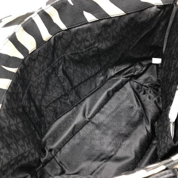 未使用 MICHAEL KORS マイケルコース MK エムケー トート ショルダー バッグ ゼブラ柄 かばん カバン レディース ブランド 管理RY2000048634ARLq5cjS