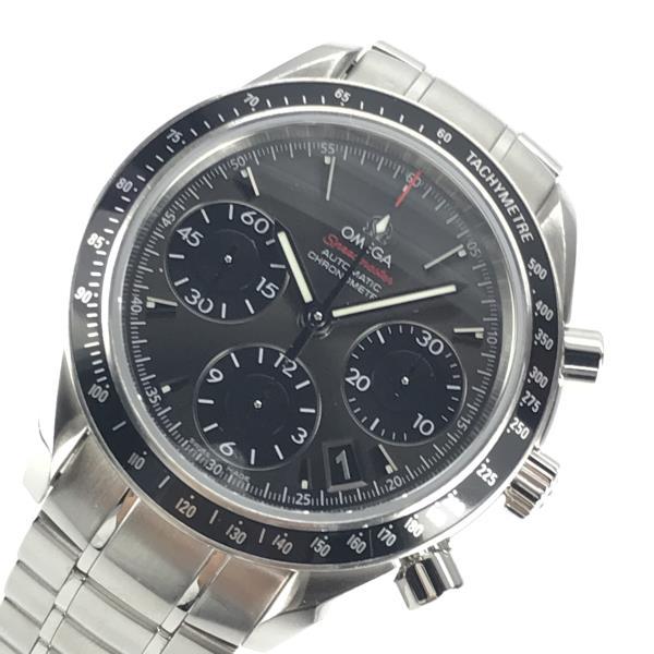 OMEGA オメガ 323.30.40.40.06.001 スピードマスター メンズ 腕時計 自動巻き クロノグラフ グレー文字盤 6針 デイト 40mm 管理YK20000827