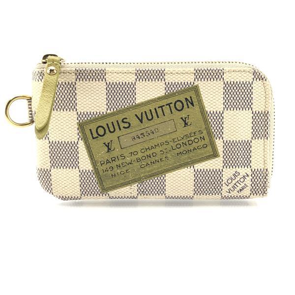 LOUIS VUITTON ルイヴィトン N63085 ポシェットクレ コンプリス コインケース 小銭入れ キーケース ダミエ・アズール 管理RY20001179