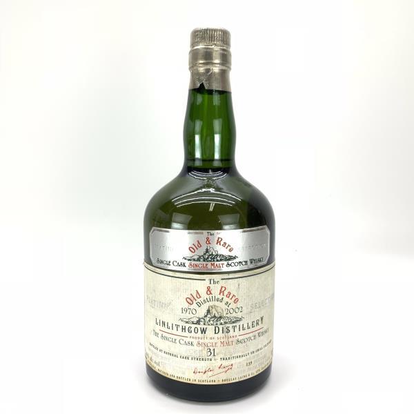 リンリスゴー 31年 700ml 52.4% LINLITHGOW ダグラスレイン Douglas Laing 古酒 レアボトル 閉鎖蒸留所 ボトラーズ 古酒 リンリスゴウ 管理YI20002214