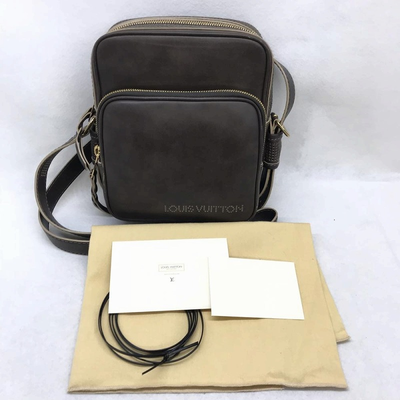 9f593d0dd Kanteikyoku Nagoyanishiki: Shoulder bag unisex used management RM9474 of  LOUIS VUITTON Louis Vuitton M95320 キュイールベキアトロター MM Brown line | Rakuten ...
