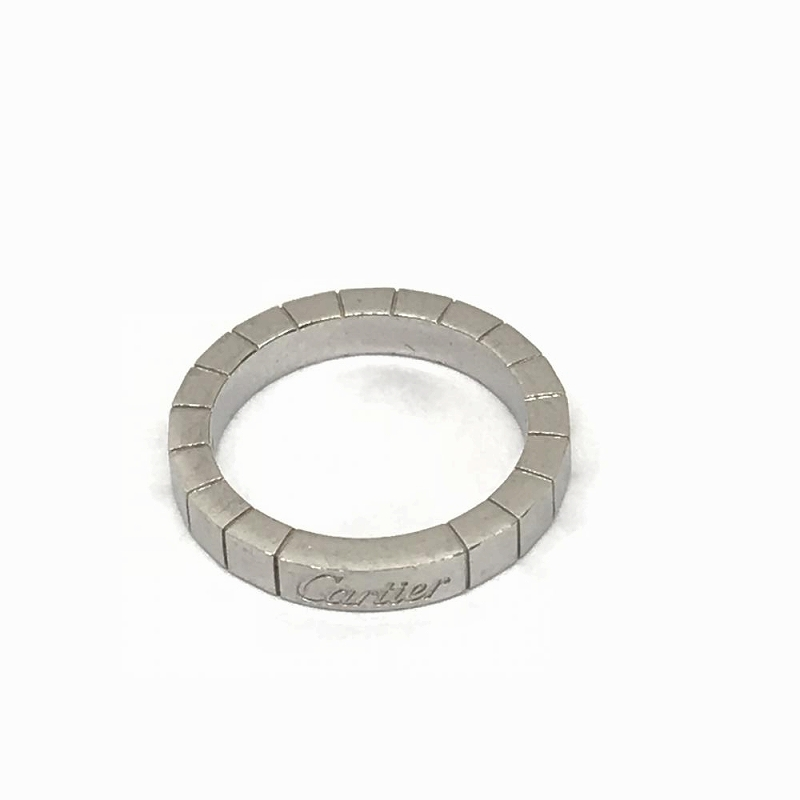 カルティエ CARTIER/ラニエールリング 750 #50 10号 K18WG 中古 レディース 指輪 管理EM