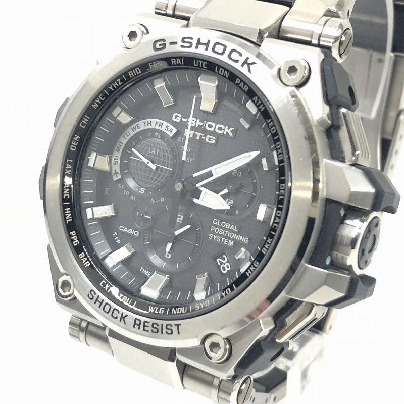 best service c8f2a 5346f Casio CASIO G-SHOCK G-Shock MTG-G1000D MT-G G1000D 1AJF GPS hybrid electric  wave solar watch men management RM9695